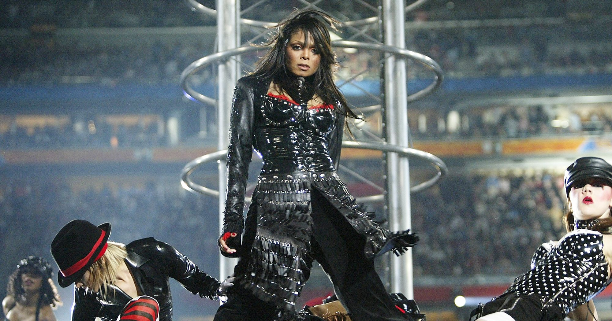 Janet Jackson at the 2004 Super Bowl