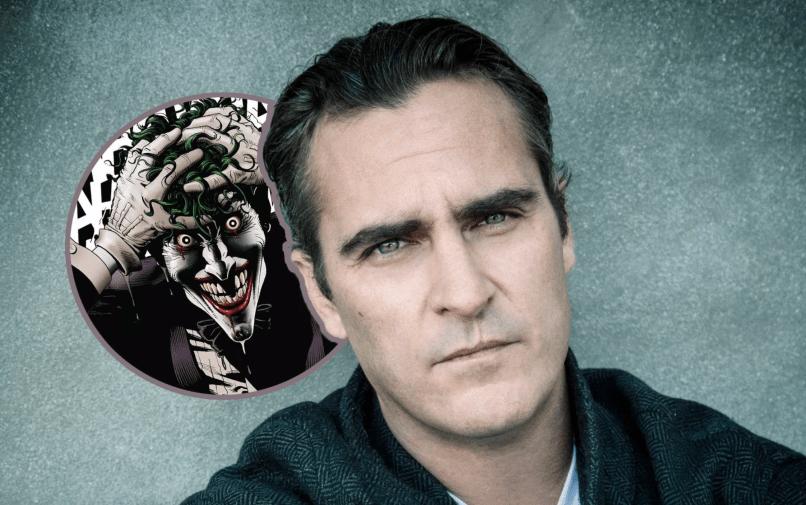 Joaquin Phoenix and The Joker Origin Movie Release Date Todd Phillips