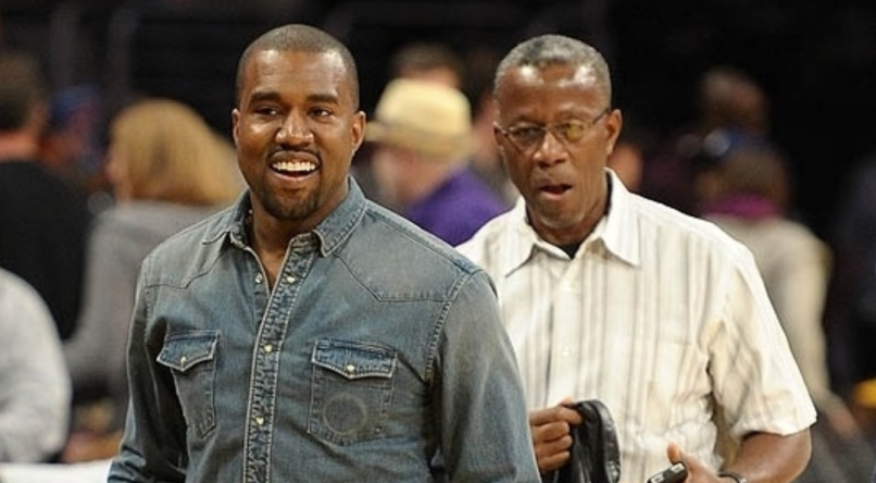 Kanye and Ray West