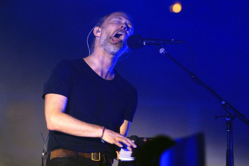 kaplan cos radiohead 44 Live Review: Radiohead Gets Nostalgic for Tour Kickoff at Chicagos United Center (7/6)