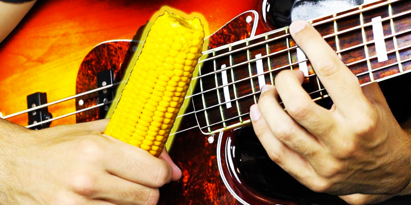 Korn played with corn