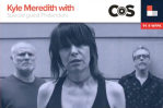 Kyle Meredith with Chrissie Hynde of Pretenders