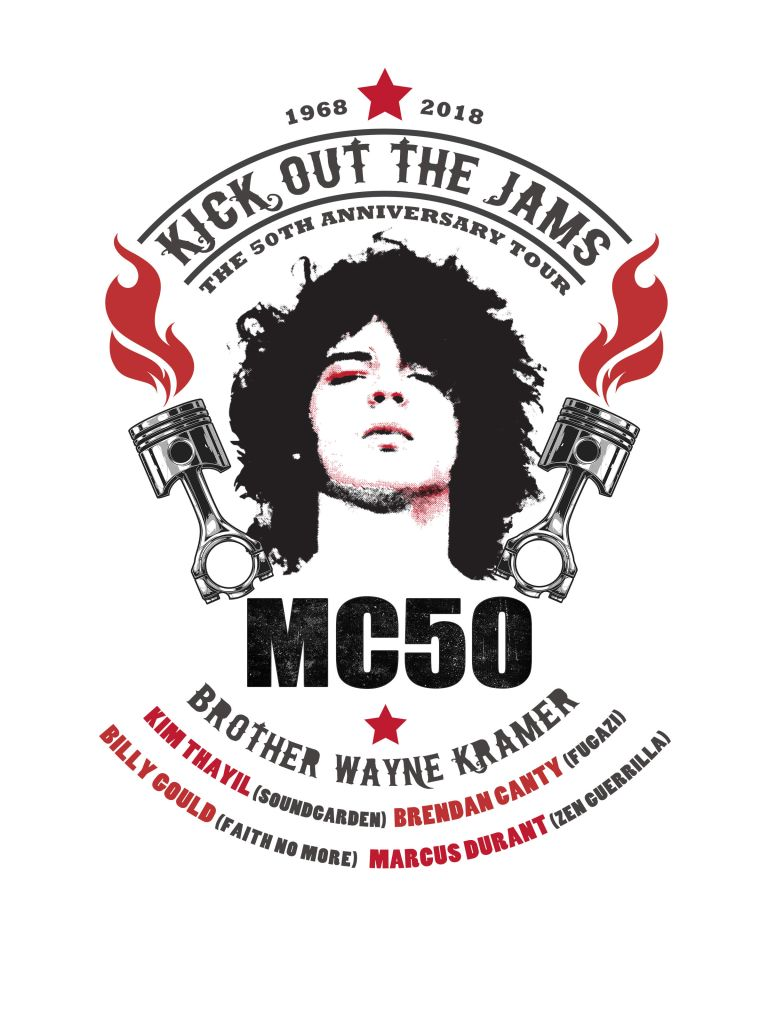 MC50 Tour Poster