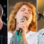 Arctic Monkeys (Scott Kowalchyk), Florence and the Machine (David Brendan Hall), King Krule (Philip Cosores)