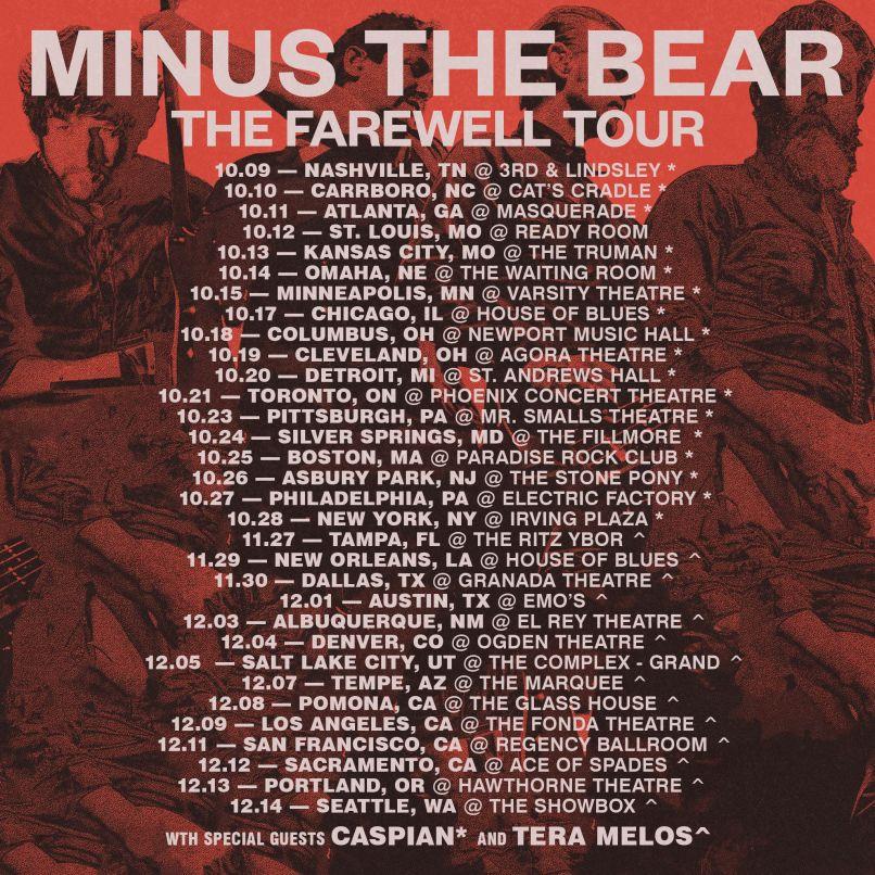 minus the bear farewell tour