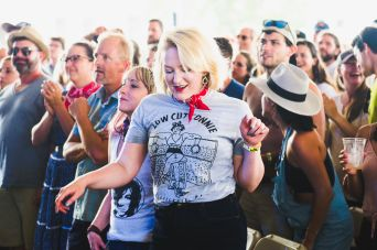 Newport Folk 2018 Ben Kaye crowd