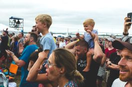 Newport Folk Festival Crowd 2018 Ben Kaye