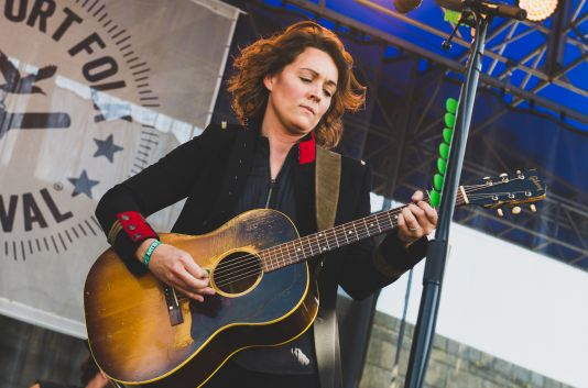 Brandi Carlile, Newport Folk Festival 2018, photo by Ben Kaye