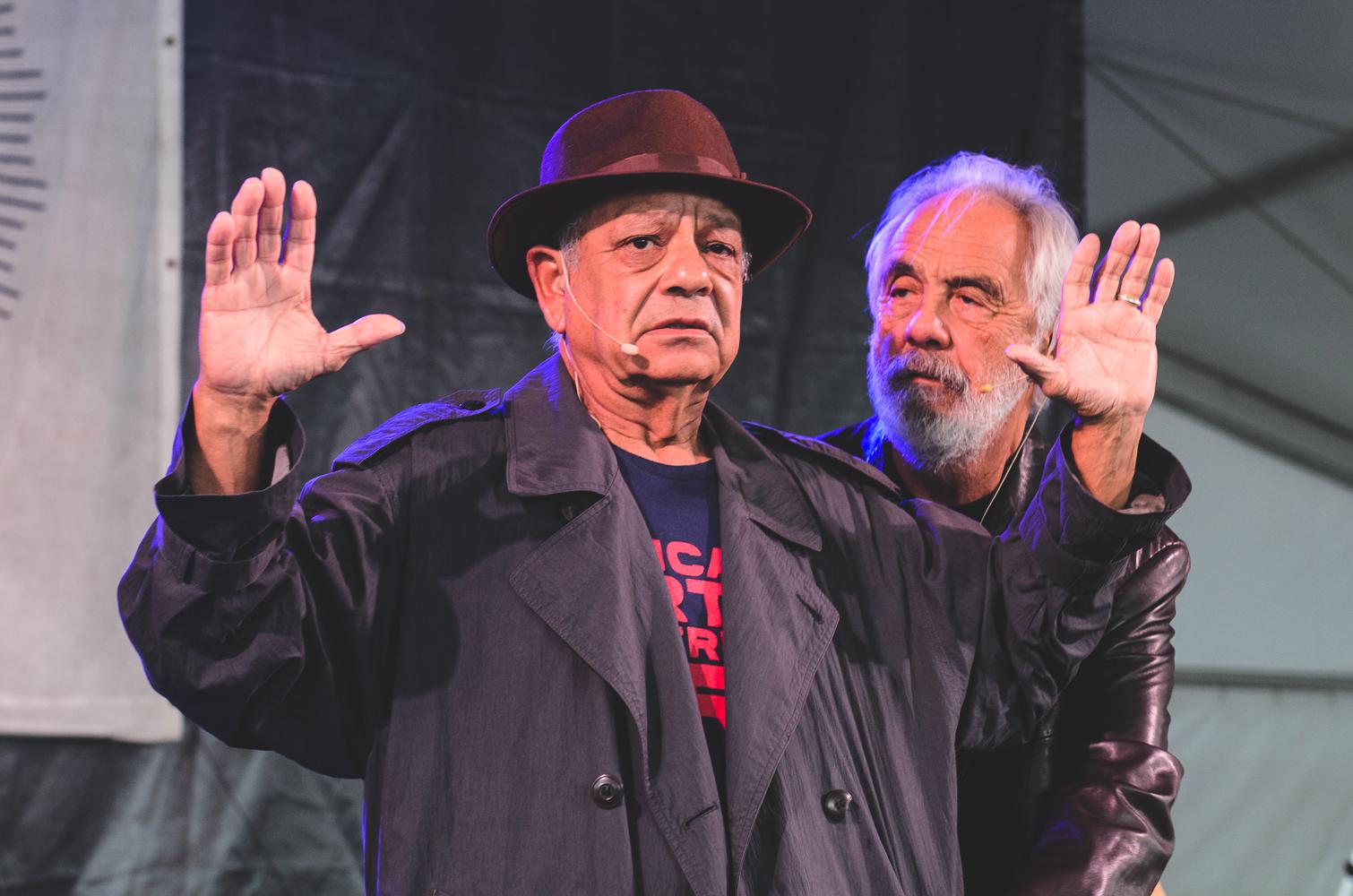 Newport Folk Festival 2018 Ben Kaye-Cheech and Chong 1