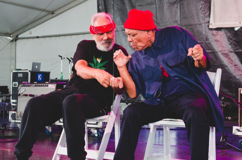Newport Folk Festival 2018 Ben Kaye-Cheech and Chong 1