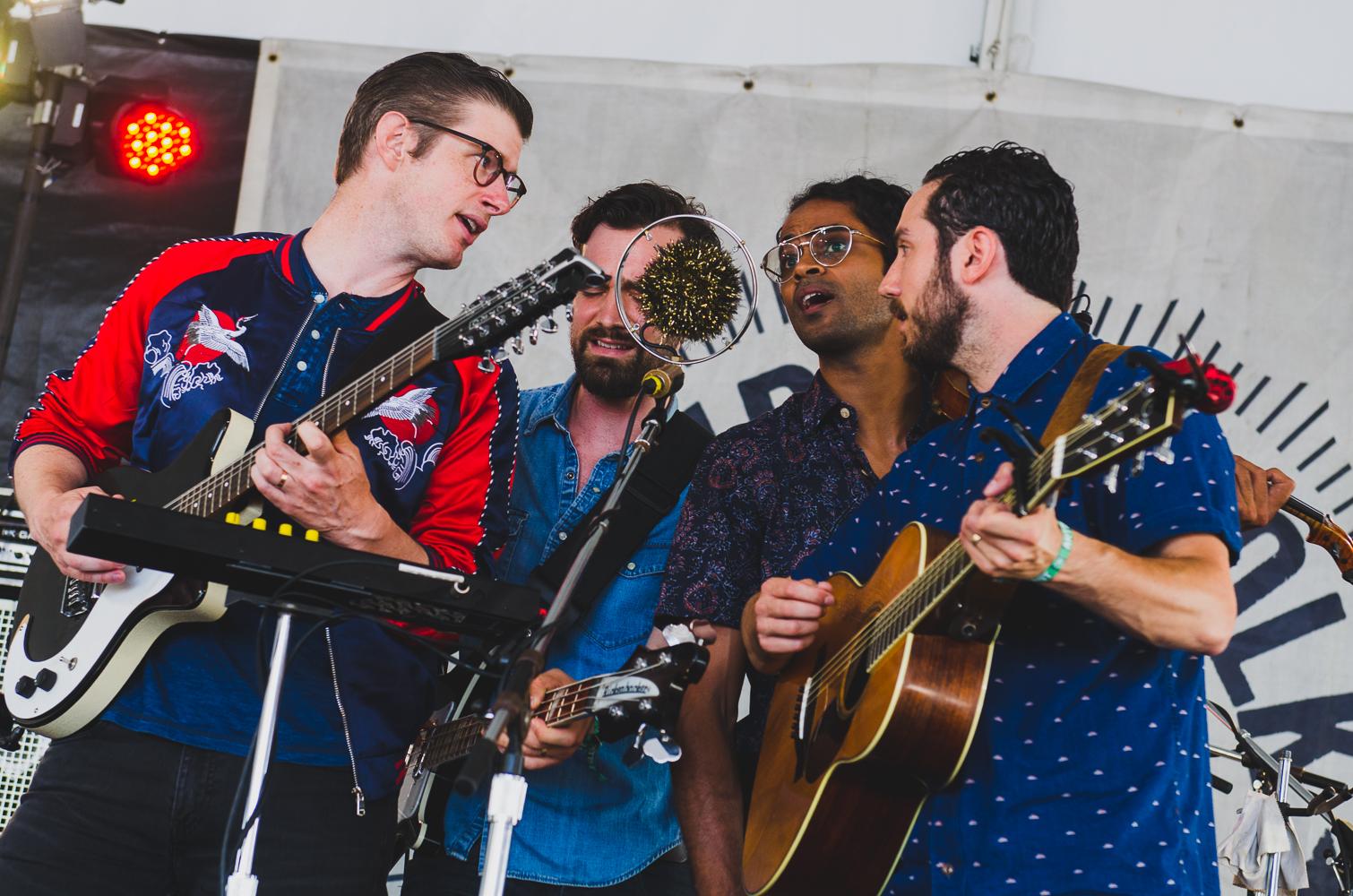 Newport Folk Festival 2018 Ben Kaye-Darlingside 1