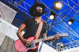 Gary Clark Jr., Newport Folk Festival 2018, photo by Ben Kaye