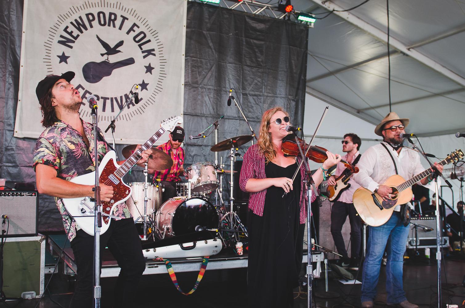 Newport Folk Festival 2018 Ben Kaye-Glorietta