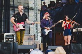 Newport Folk Festival 2018 Ben Kaye-Jason Isbell David Crosby