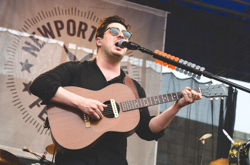 Newport Folk 2018 Ben Kaye-Mumford and Sons 1