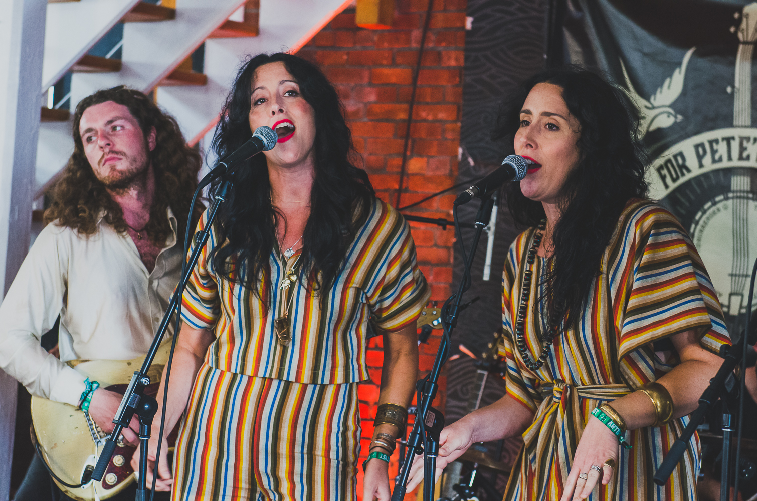 Newport Folk 2018 Ben Kaye-Nicole Atkins Museum Stage Watson Twins 2