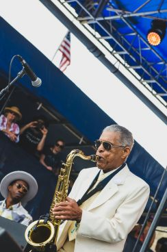 Preservation Hall Jazz Band, Newport Folk Festival 2018, photo by Ben Kaye