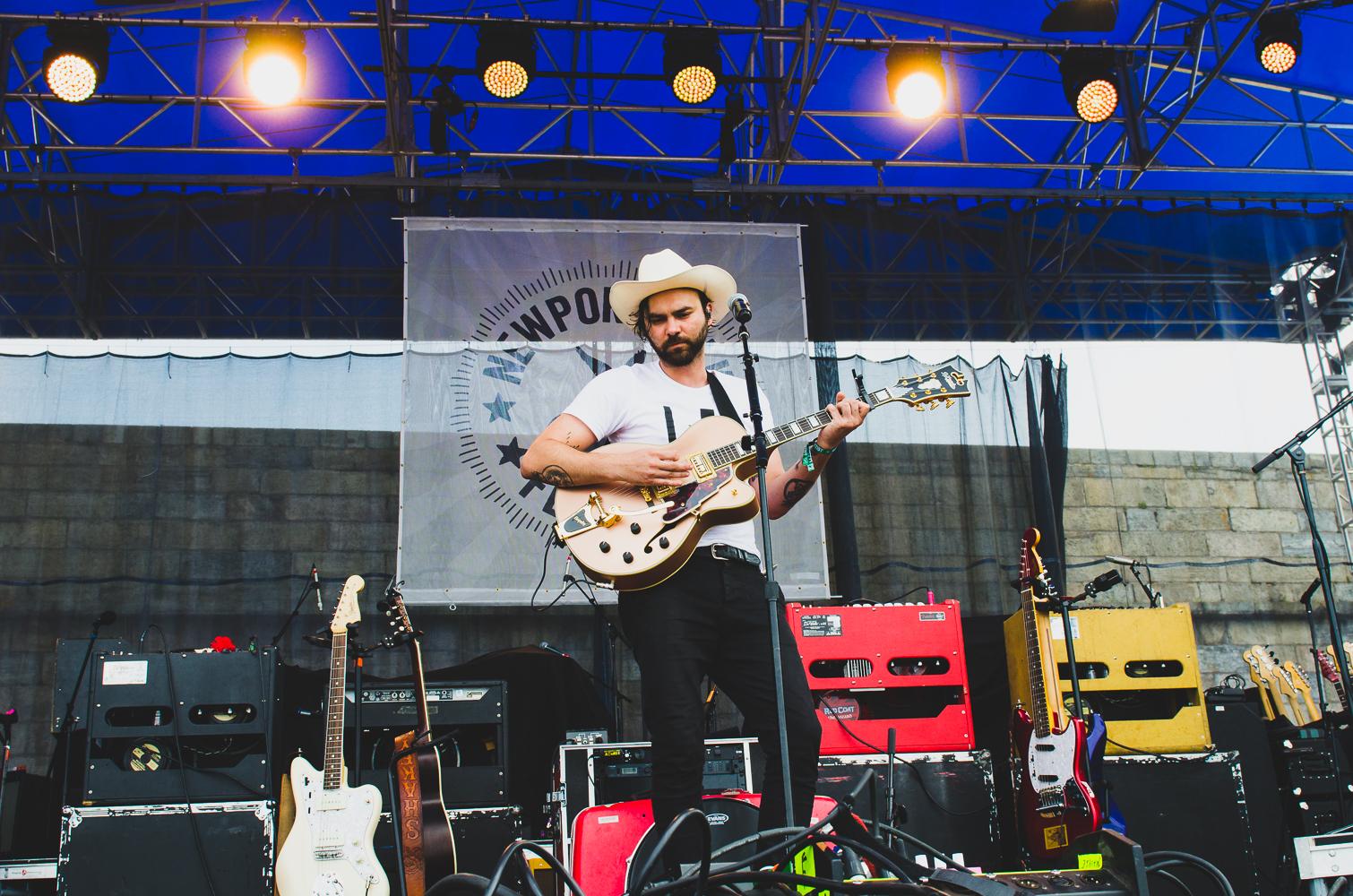 Newport Folk 2018 Ben Kaye-Shakey Graves 1