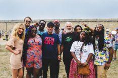 Newport Folk 2018 Ben Kaye-Tank and the Bangas with Cheech and Chong