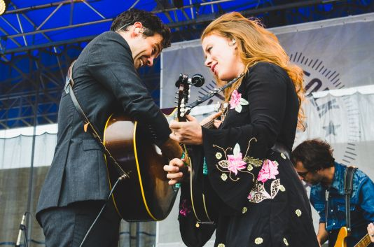 The Lone Bellow, Newport Folk Festival 2018, photo by Ben Kaye