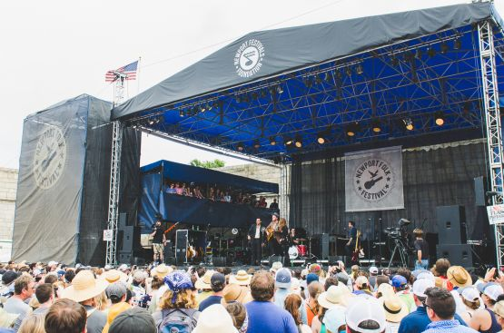 The Lone Bellow, Newport Folk Festival 2018, photo by Ben Kaye