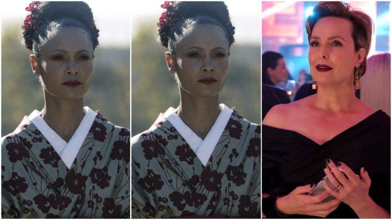 Thandie Newton, Melora Hardin