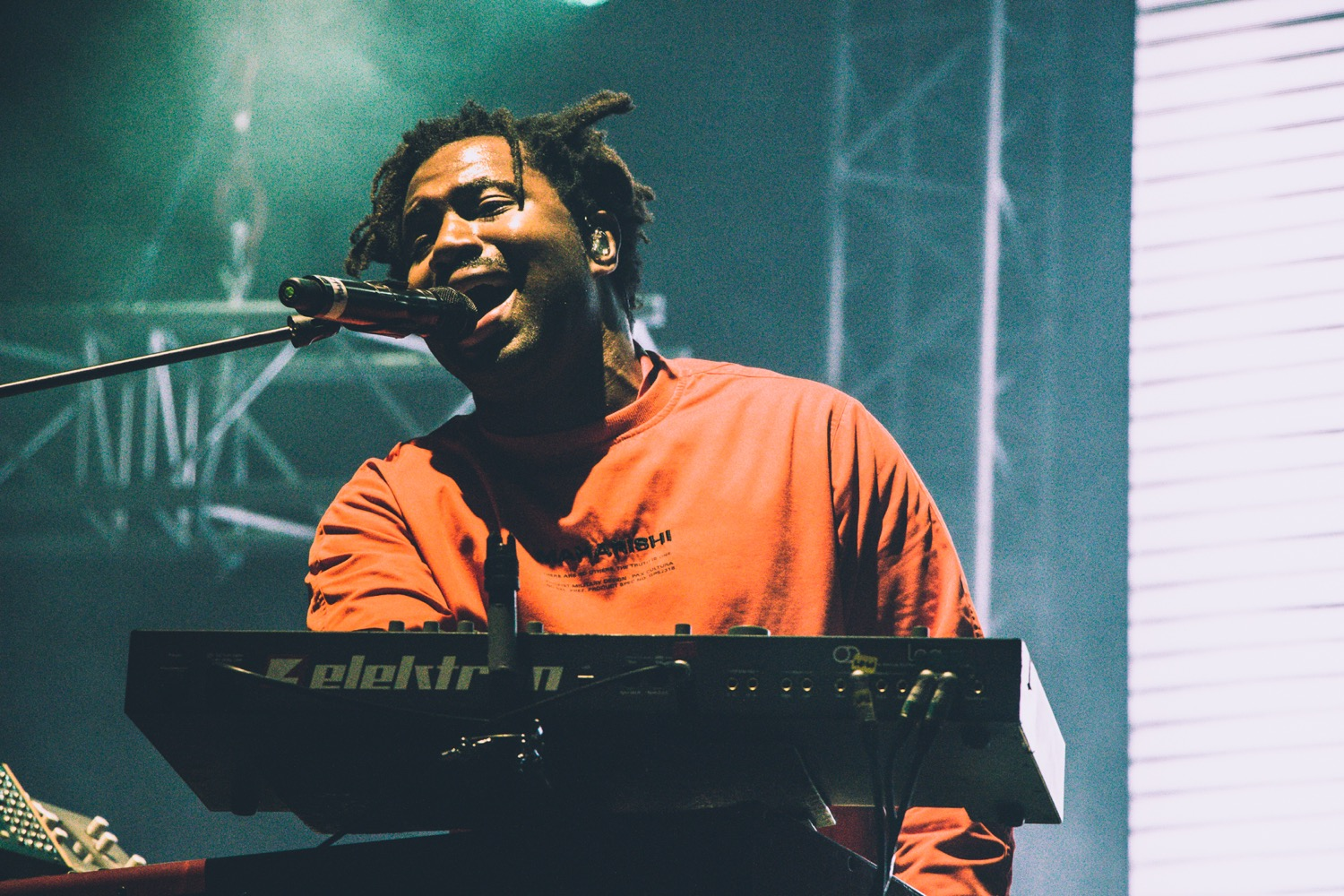 Sampha, NOS Alive 2018, Portugal, Photo by Lior Phillips