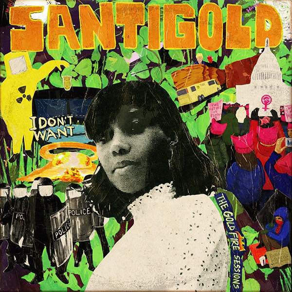 santigold cover art gold