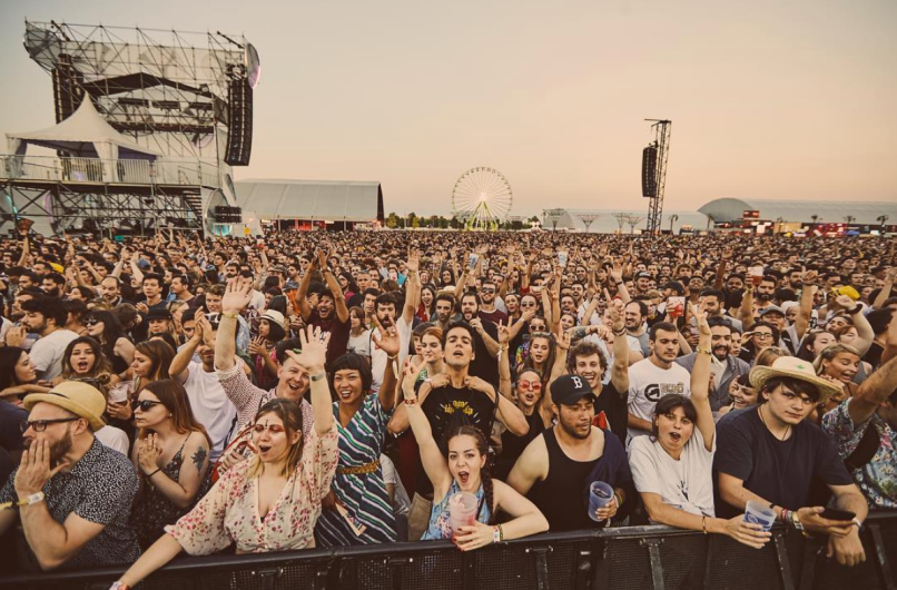 Mad Cool Festival, Madrid, photo by Andrés Iglesias