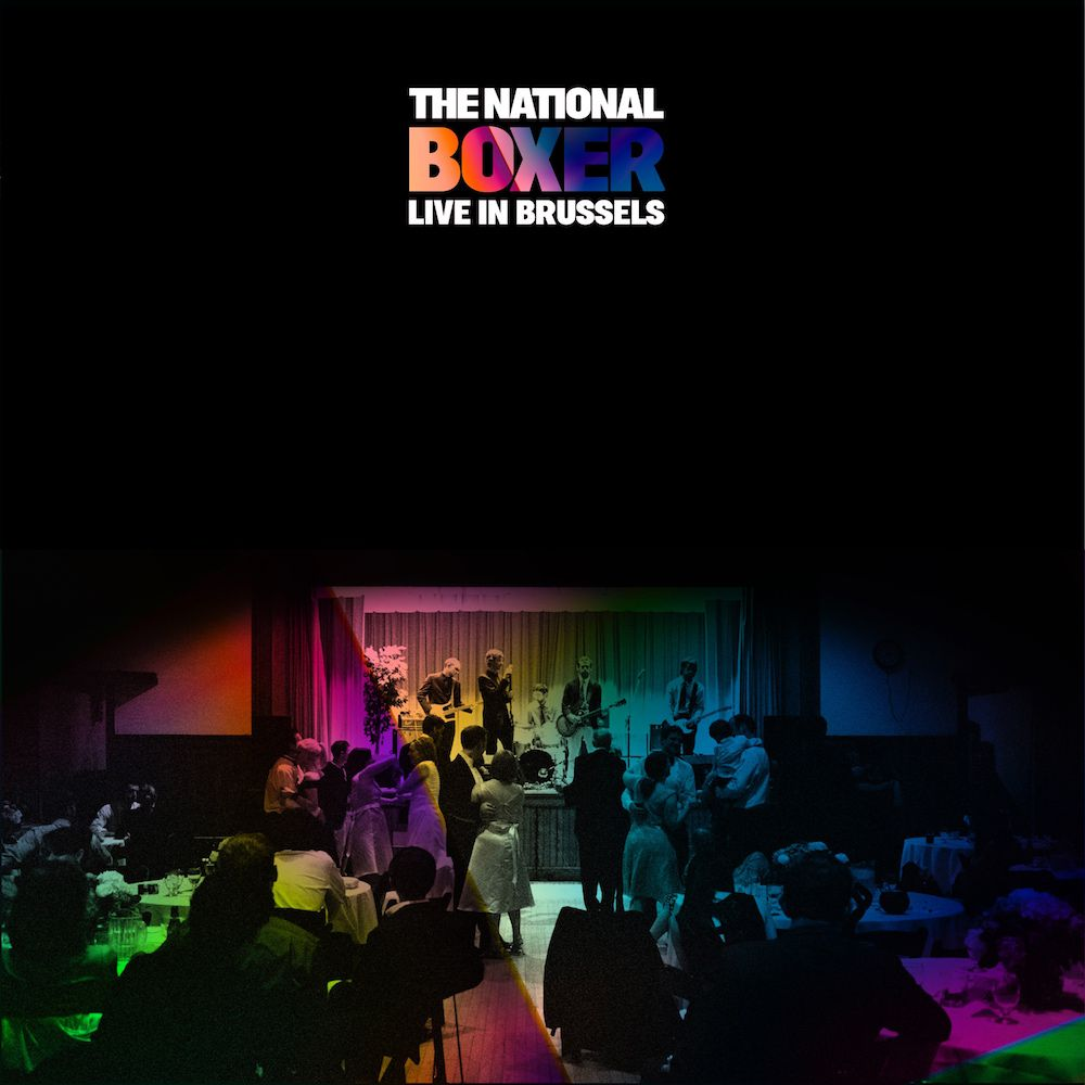 the national boxer live in brussels The National unveil Boxer (Live in Brussels): Stream