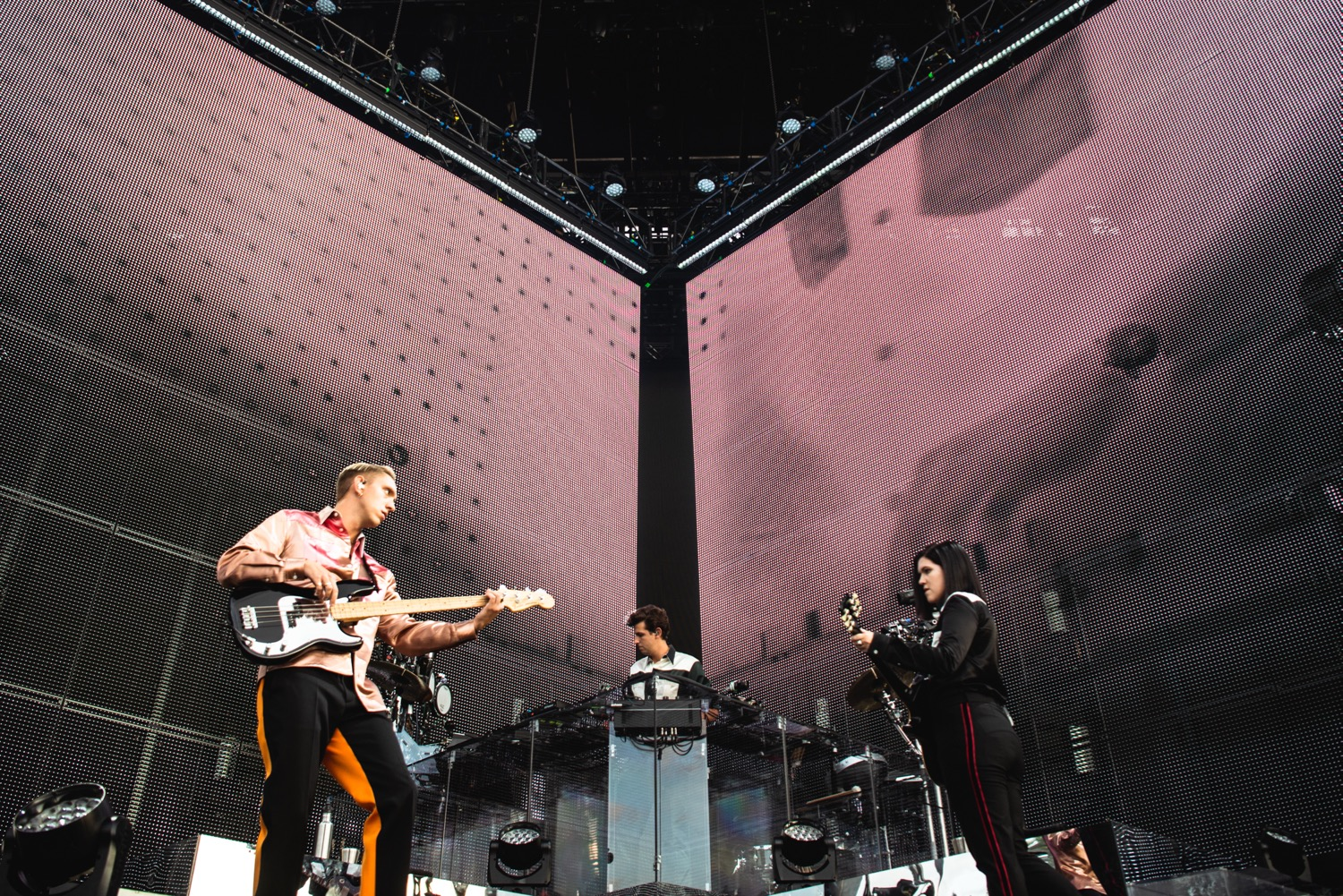 The xx, Panorama 2018, photo by Julia Drummond