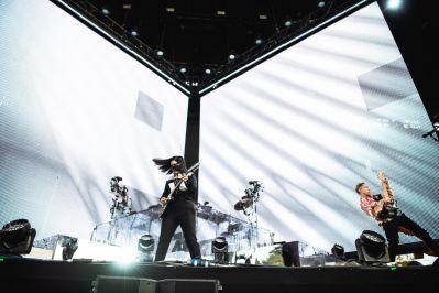 The xx, Panorama 2018, photo by Julia Drummond