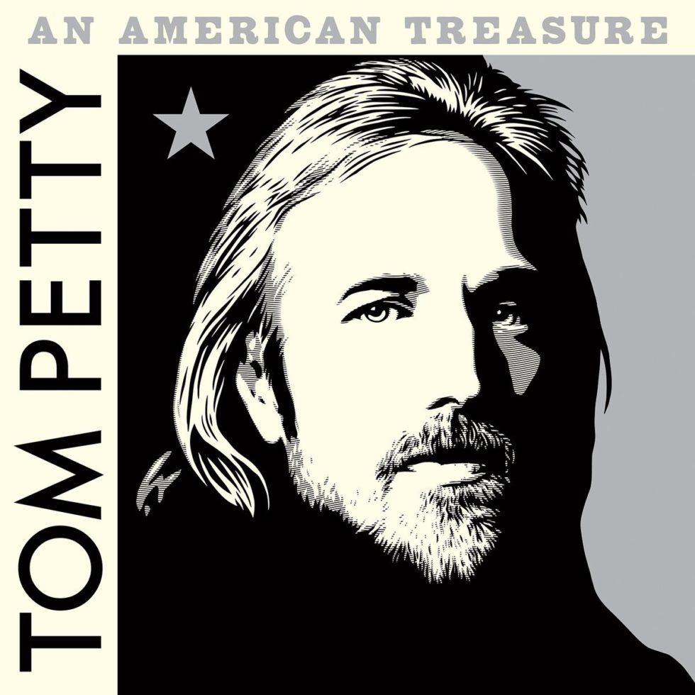 Tom Petty an American Treasure cover artwork Shepard Fairey box set