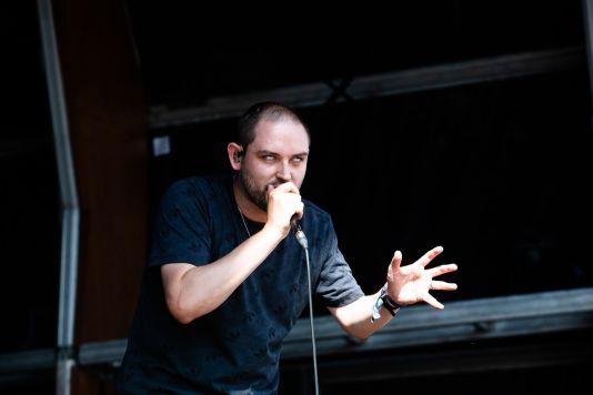 The Twilight Sad, photo by Debi Del Grande