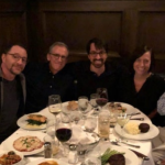 West Wing cast reunites with Aaron Sorkin
