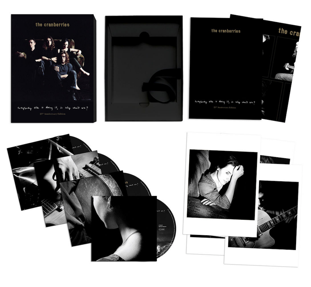 25th anniversary everybody else is doing The Cranberries announce 25th anniversary reissue of Everybody Else Is Doing It, So Why Cant We?