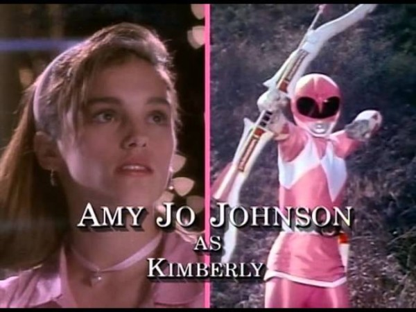 Amy Jo Johnson - Pink Ranger