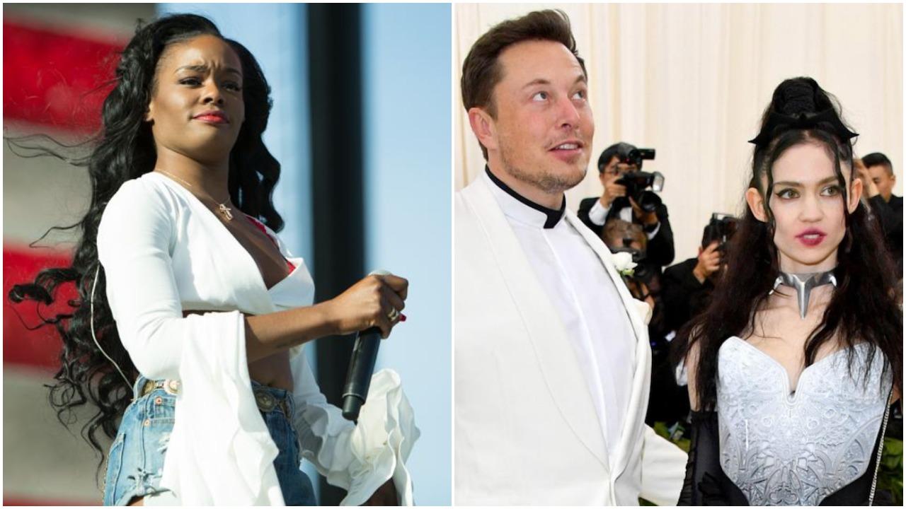 Azealia Banks calls her weekend at Elon Musk's house