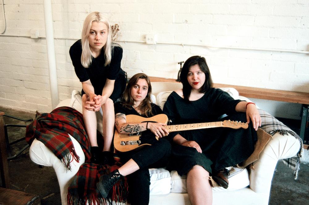 boygenius (Julien Baker, Phoebe Bridgers, Lucy Dacus) announce EP