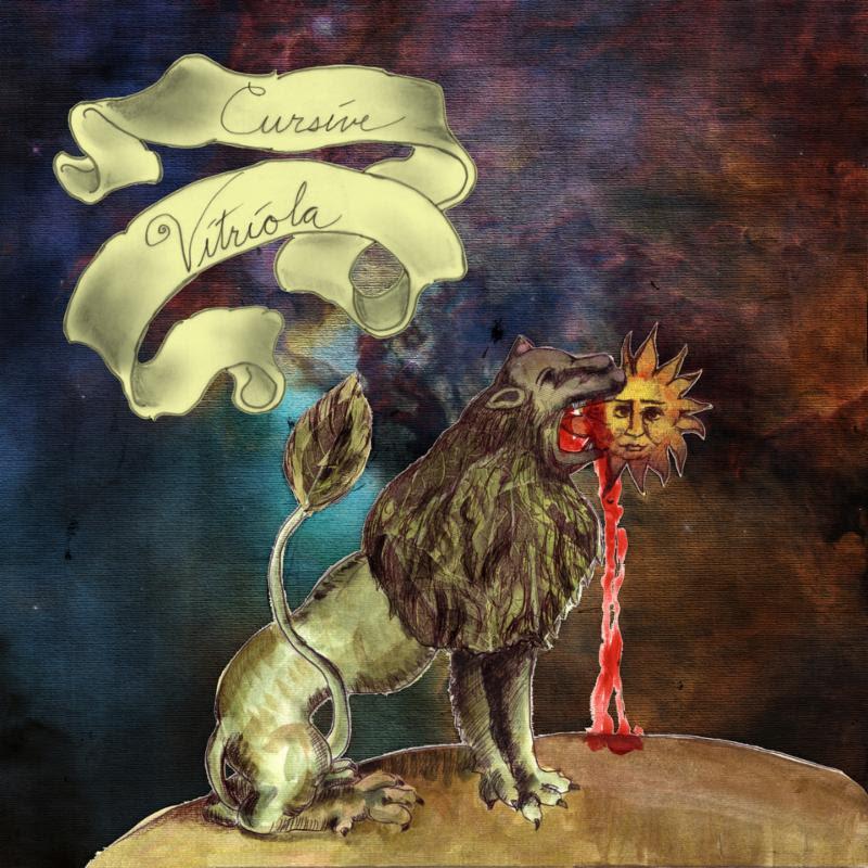 Cursive Vitriola Album Cover Artwork Lion Sun