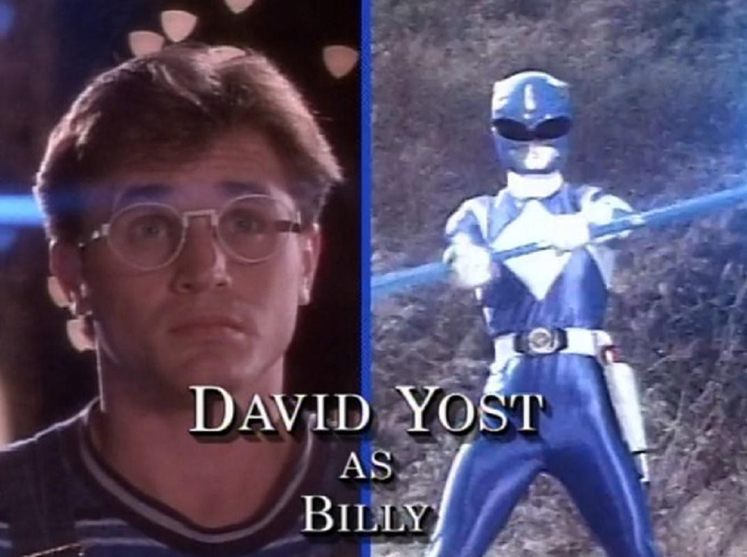 David Yost - Blue Ranger