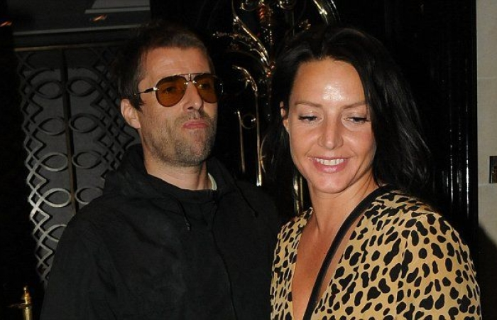 Debbie Gwyther and Liam Gallagher