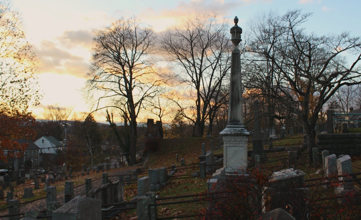 Devotchka empty vessels Nick Urata This is the actual cemetery I grew up next to