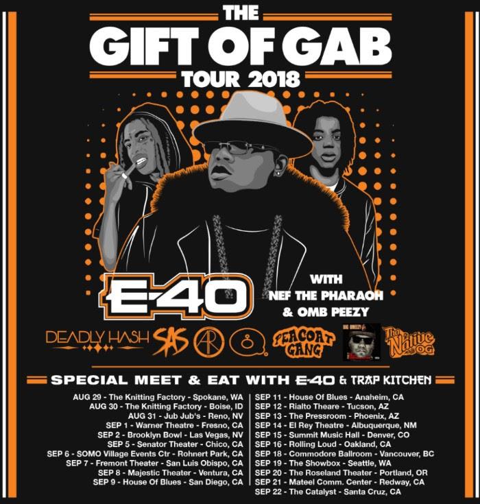 e-40 tour dates