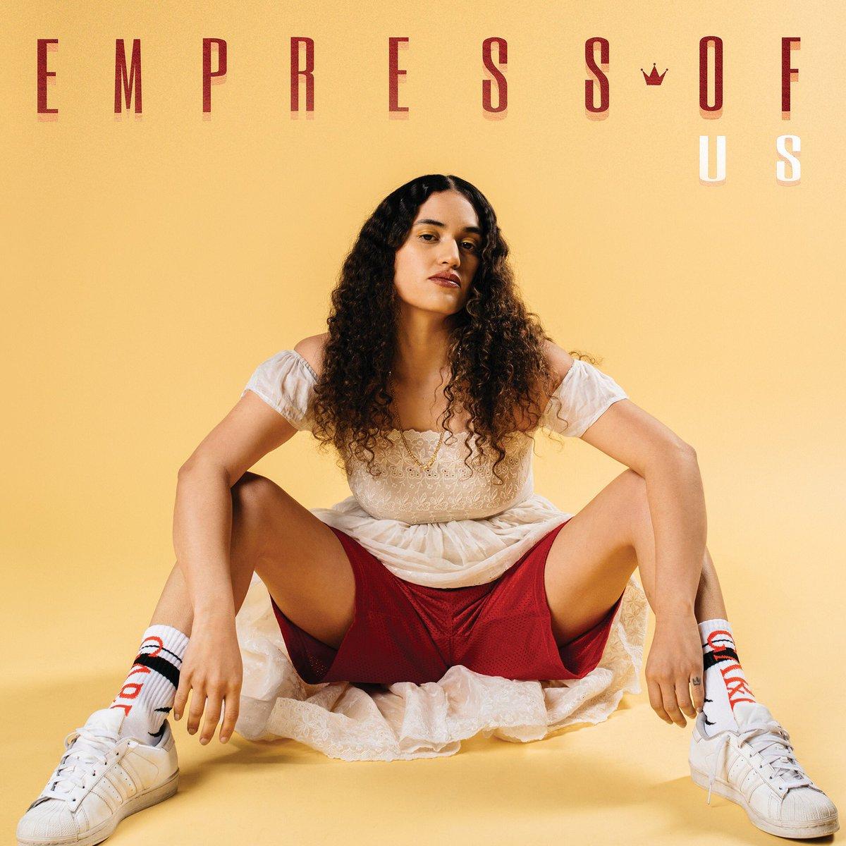 empress of us album cover artwork 2018