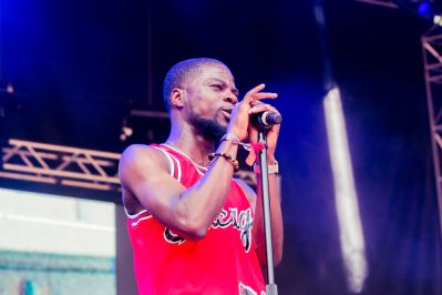 Femdot, Lollapalooza 2018, photo by Caroline Daniel