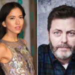 FX Devs Sonoya Mizuno Nick Offerman photo by Michael Buckner, Deadline, Shutterstock