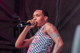 G Herbo, Lollapalooza 2018, photo by Caroline Daniel