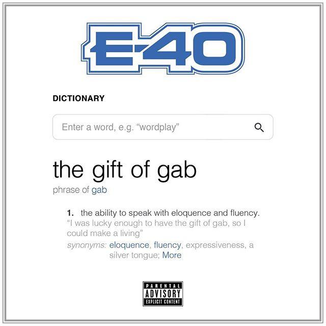gift of gab album artwork