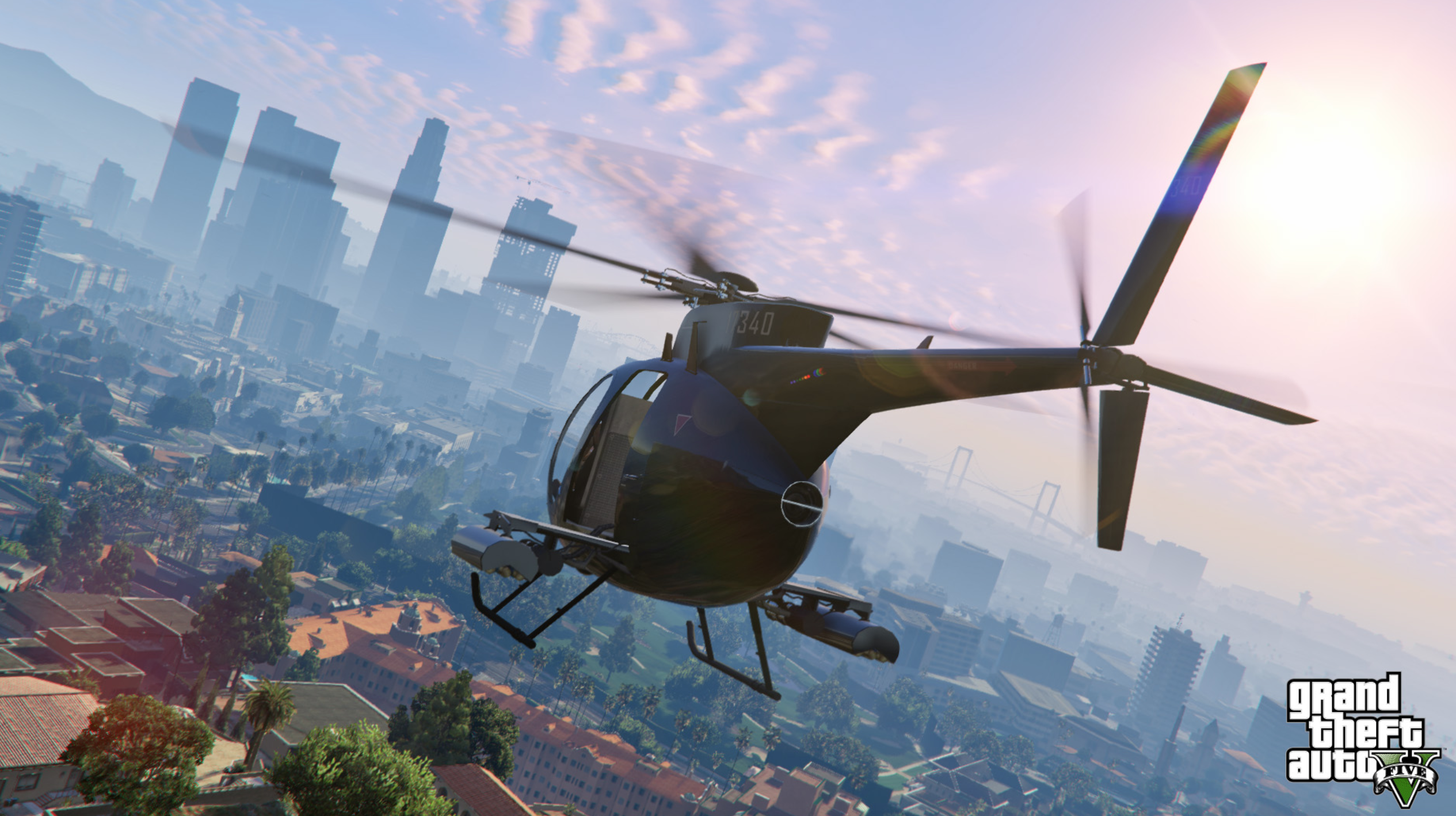 Grand Theft Auto Helicopter Stealing